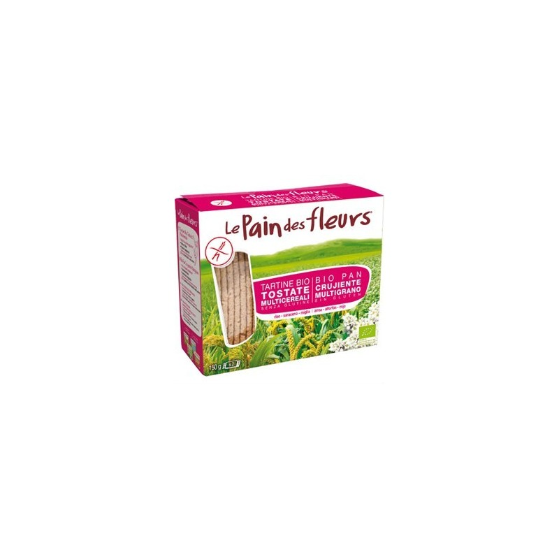 PAIN DES FLEURS - TARTINE TOSTATE AI MULTICEREALI 150g