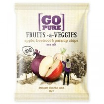 GO PURE - CHIPS FRUITS&VEGGIES SALATE 40g