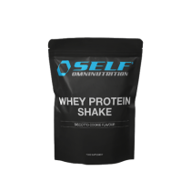 SELF OMNINUTRITION - WHEY PROTEIN SHAKE BISCOTTO COOKIE FLAVOUR 1kg