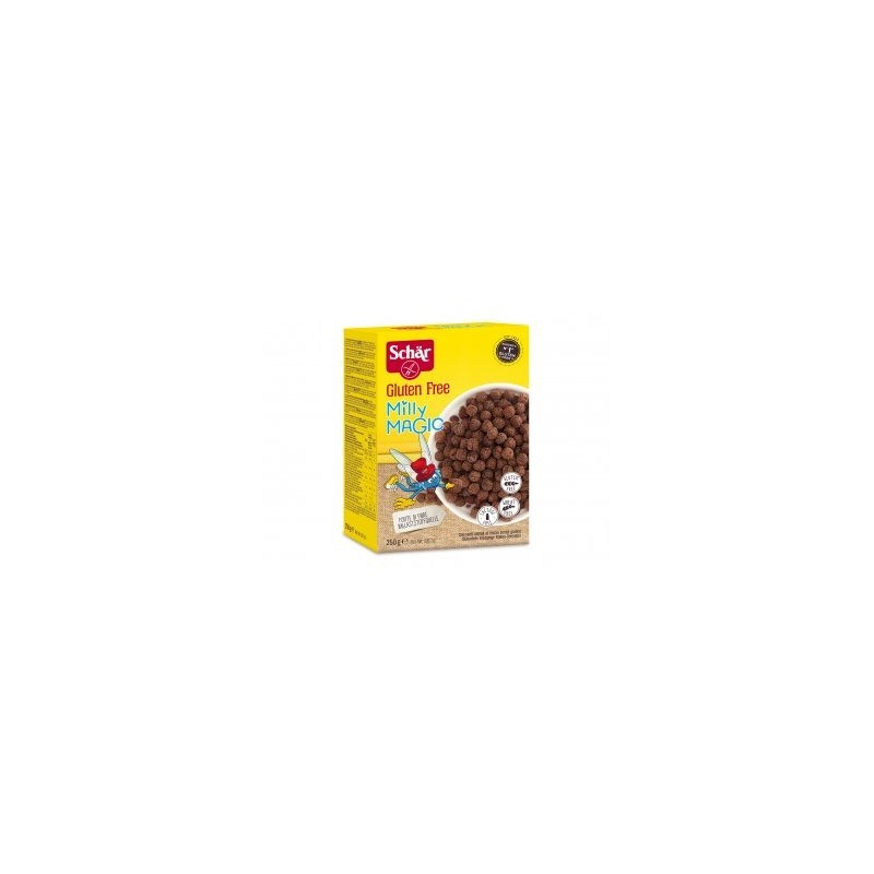 [Prima Colazione  Cereali] Dr Schar - Milly Magic Cereali al Cioccolato 250g.jpg