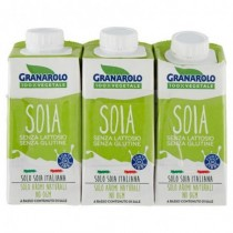 GRANAROLO '100% VEGETALE' - DRINK SOIA 3x200ml