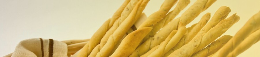 Crackers Grissini e Taralli